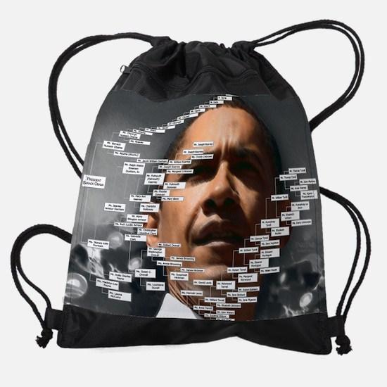 Obama Ancestors 2.png Drawstring Bag