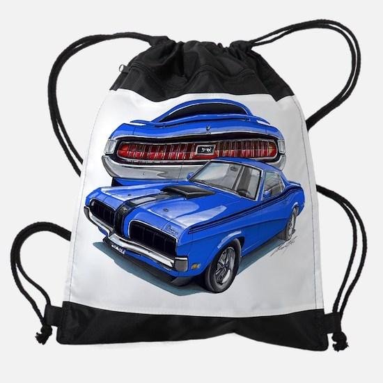EC137CougarEliminator69 blue.psd Drawstring Bag