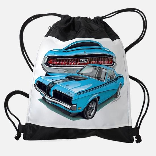 EC137CougarEliminator69 grabber blu Drawstring Bag