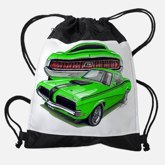 EC137CougarEliminator69 green.psd Drawstring Bag