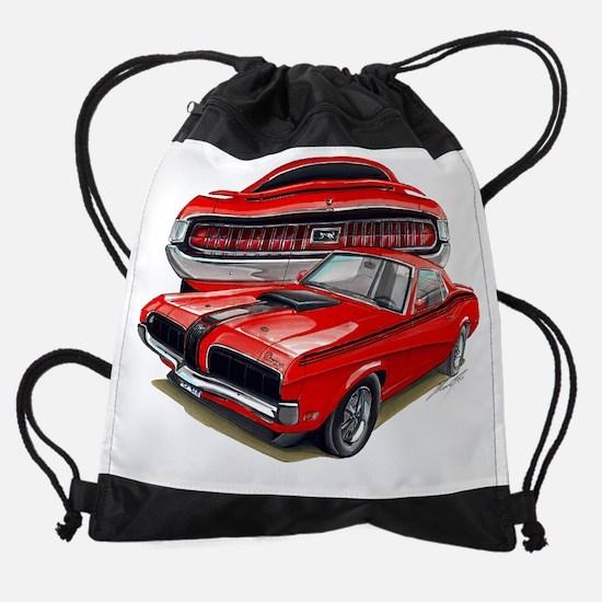 EC137CougarEliminator69 Red.psd Drawstring Bag