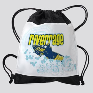 4-riverrage art2 wbkgrnd Drawstring Bag