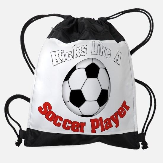 Soccer Player1A.png Drawstring Bag