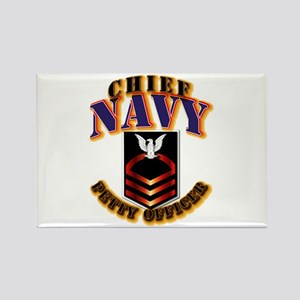 NAVY - CPO Rectangle Magnet