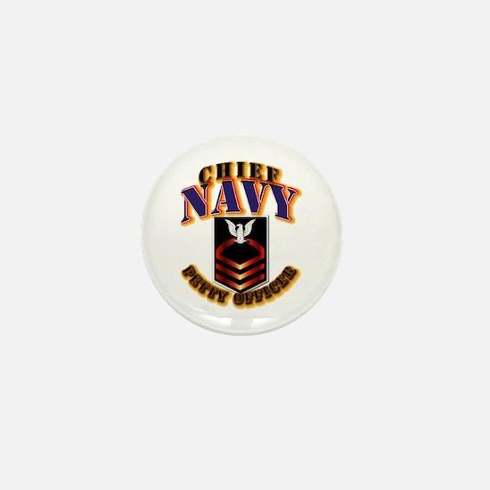 NAVY - CPO Mini Button