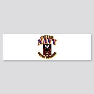 NAVY - CPO Sticker (Bumper)