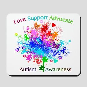 Autism Tree in Spectrum Mousepad