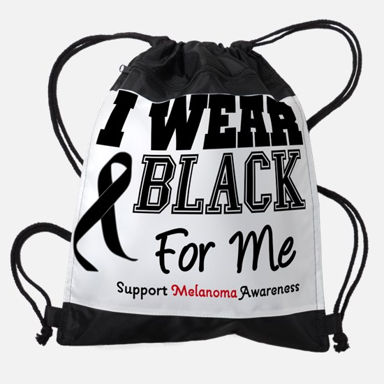 IWearBlackSporty-XMe.png Drawstring Bag