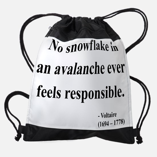 voltaire 7 btext.png Drawstring Bag