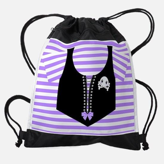 Cute Cute skull Drawstring Bag