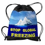 2-ICEBERG.jpg Drawstring Bag