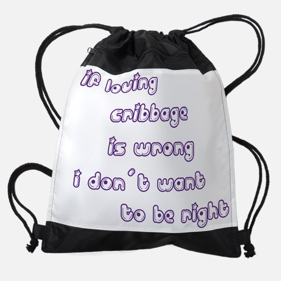 wg106_Cribbage.png Drawstring Bag