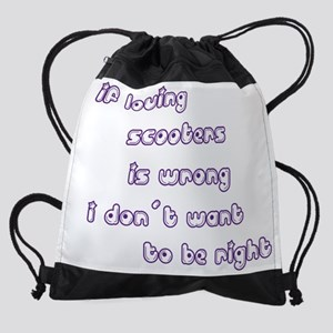 wg381_Scooters.png Drawstring Bag