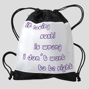 wg427_Sushi Drawstring Bag