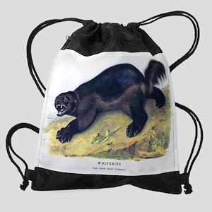 Wolverine1 Drawstring Bag
