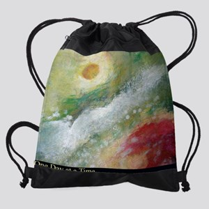 ONE DAY poster-2 Drawstring Bag