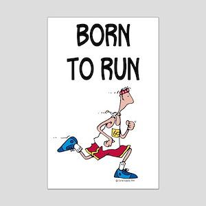 Born to run Mini Poster