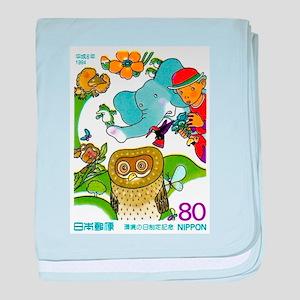 1994 Japan Environment Day Postage Stamp baby blan