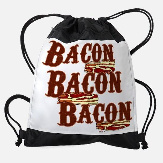 Bacon Drawstring Bag