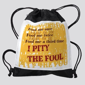 fool2 Drawstring Bag