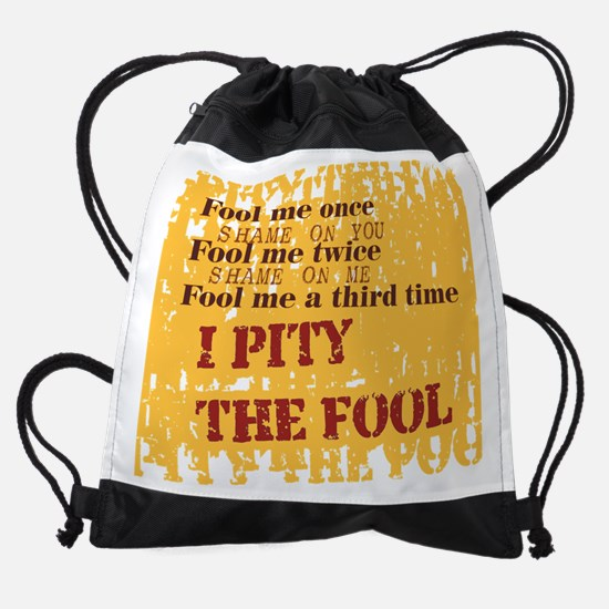 fool2.png Drawstring Bag