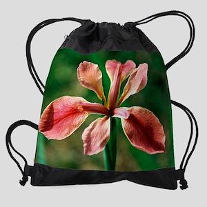 calendar louisiana iris 2 Drawstring Bag