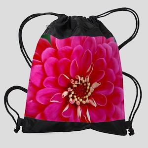 calendar zinnia 2 Drawstring Bag