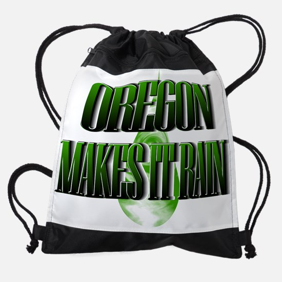 2-Oregon.png Drawstring Bag