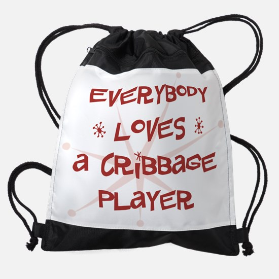 wg106_A-Cribbage-Player.png Drawstring Bag