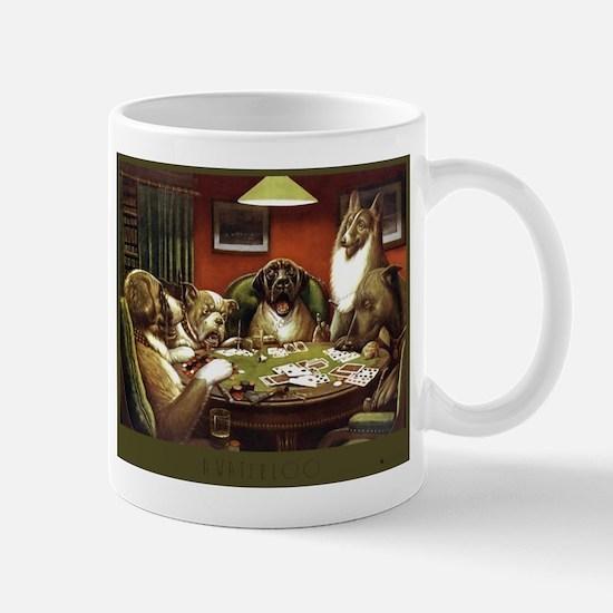 Waterloo Dog Poker Mug