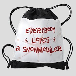 wg399_A-Snowmobiler Drawstring Bag