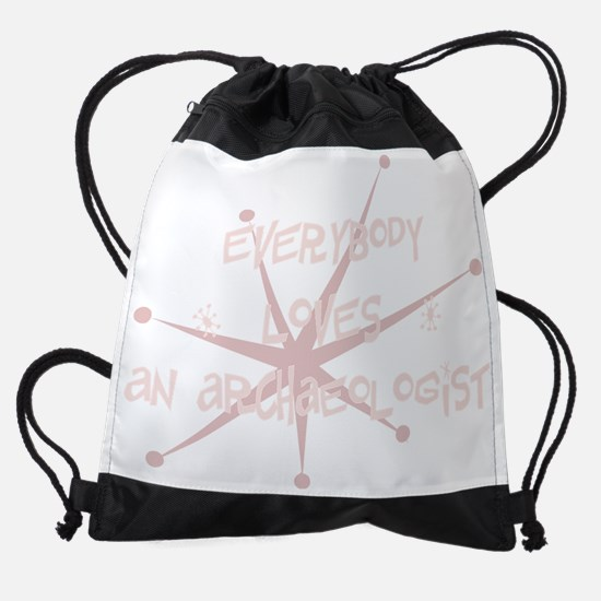 bg018_An-Archaeologist.png Drawstring Bag