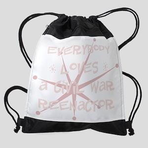 bg080_A-Civil-War-Reenactor Drawstring Bag