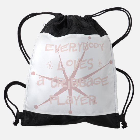 bg106_A-Cribbage-Player.png Drawstring Bag