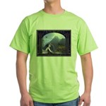 Celtic Maiden Awaits Green T-Shirt