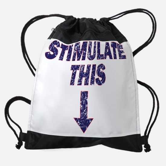 Stimulate-this-with-Arrow.png Drawstring Bag