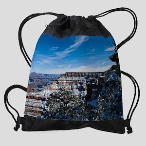 GCSnow2859_16x20 Drawstring Bag