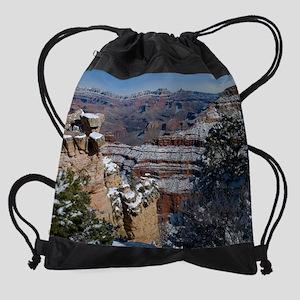 GCSnow2861_16x20 Drawstring Bag
