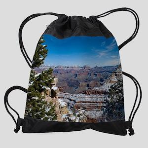 GCSnow2864_16x20 Drawstring Bag