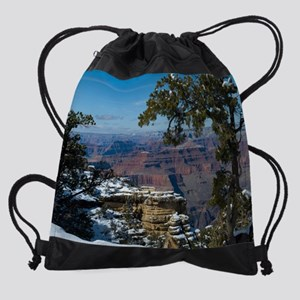 GCSnow2877_16x20 Drawstring Bag