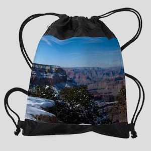 GCSnow2884_8x10 Drawstring Bag