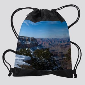 GCSnow2884_16x20 Drawstring Bag