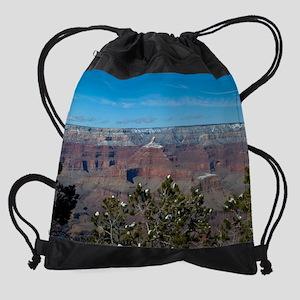 GCSnow2891_8x10 Drawstring Bag