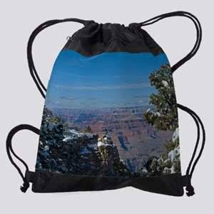 GCSnow2871_16x20 Drawstring Bag