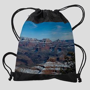 GCSnow2894_8x10 Drawstring Bag