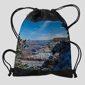 GCSnow2874_16x20 Drawstring Bag