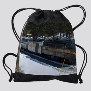 GCSnow2902_8x10 Drawstring Bag