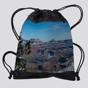 GCSnow2875_16x20 Drawstring Bag
