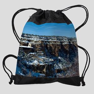 GCSnow2908_16x20 Drawstring Bag