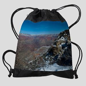GCSnow2912_8x10 Drawstring Bag